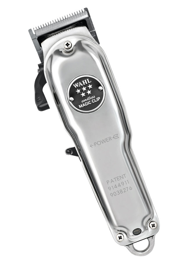 Wahl Magic Clip Cordless Clipper Limited Edition Metal
