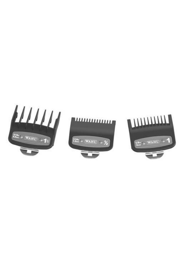 Wahl Clipper Attachment Comb Set Type 1 - Plastic PREMIUM - (3 Pieces)
