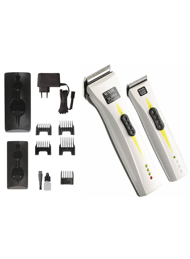 Wahl Combipack Super Cordless + Super Trimmer
