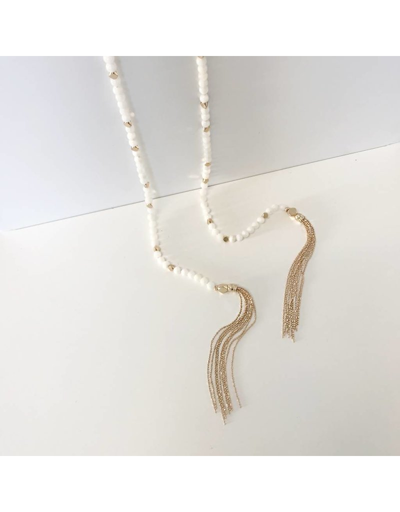 Bcharmd bcharmd - Fiona Freshwater Shell Necklace - One Size Fits All.