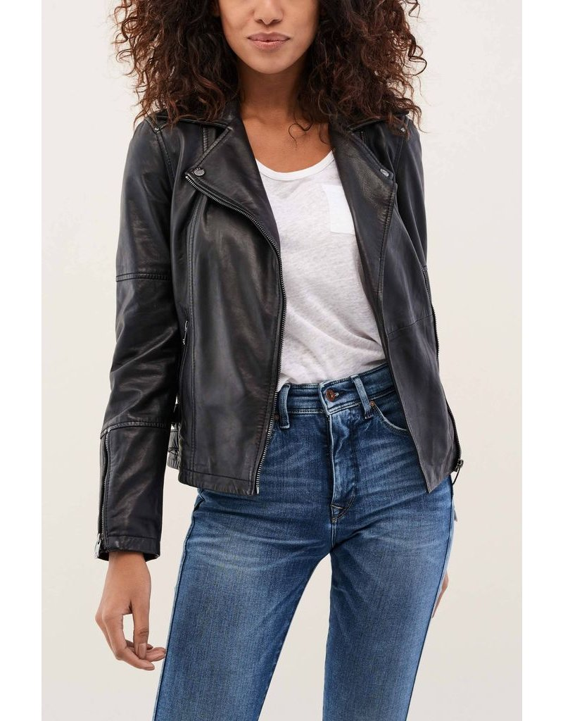 Salsa Jeans Salsa Jeans - Leather Jacket with Details