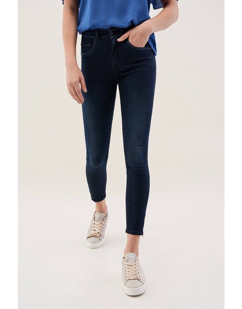 Salsa Jeans Salsa Jeans - Glamour Capri Jeans with Zip