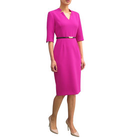 Fee G Notch Neck Dress