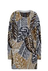 10 Feet Cardigan with Botanic pattern
