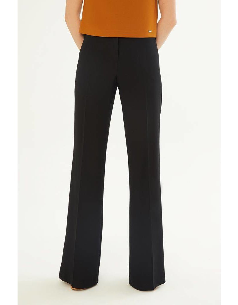 Exquise Black Flare Trousers