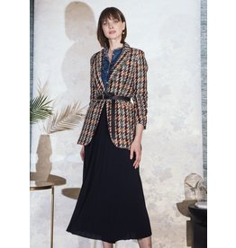 La Fee Maraboutee Woven Multicoloured jacquard Jacket