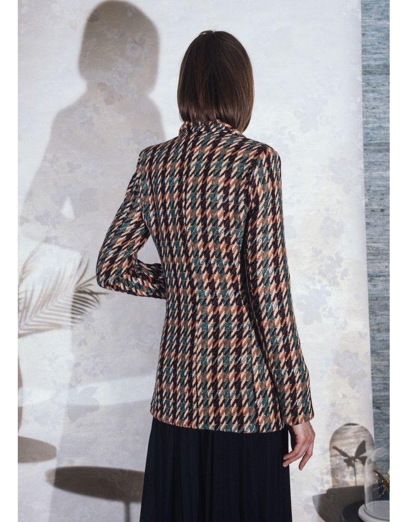 La Fee Maraboutee Woven Multicoloured jacquard Jacket
