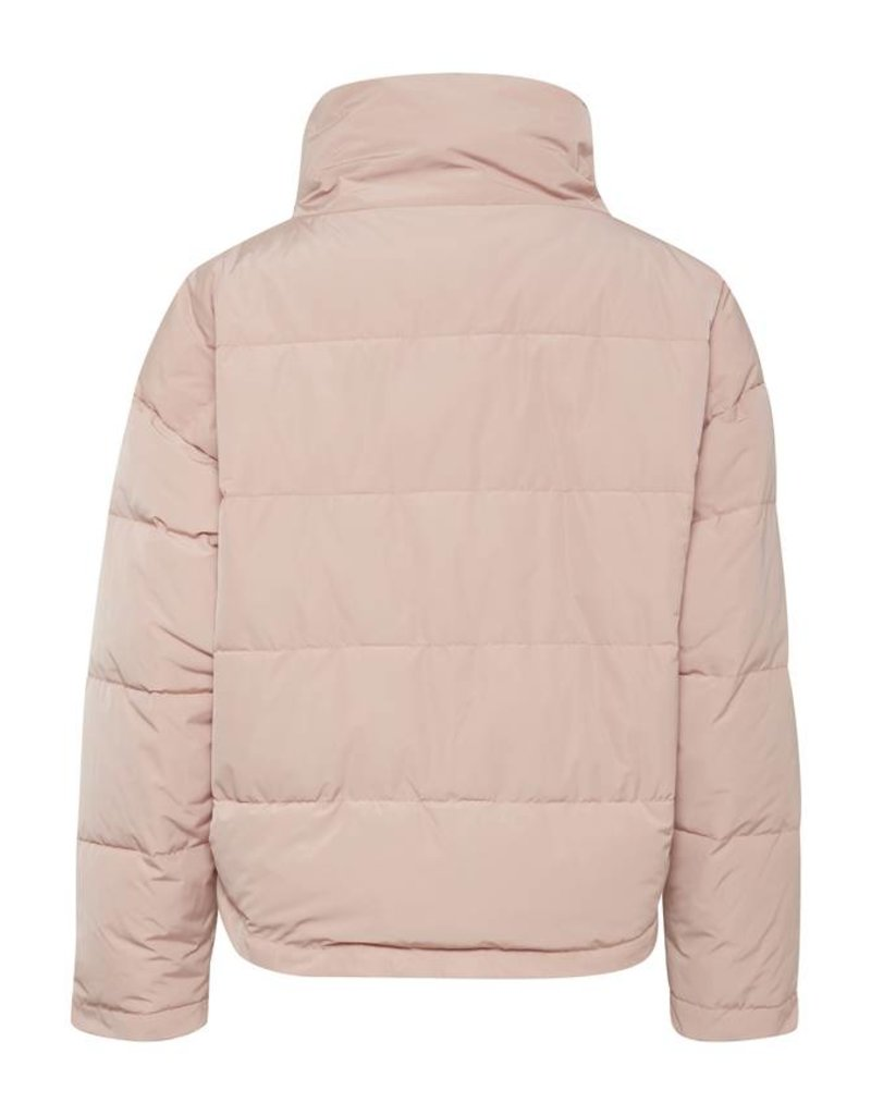 ICHI Silver Funnel Neck Jacket