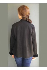 Peruzzi Black Faux Fur lined  Jacket
