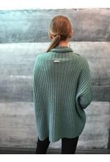 Humility Oversize Knit in Aqua Green
