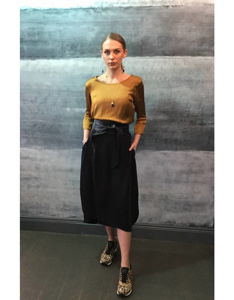 Humility Tulip Style Jersey Skirt