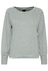 ICHI Tilly Stripe detail knit