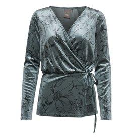 ICHI Velvet Long sleeve top