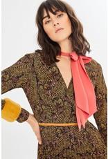 Exquise Fur Cuff Dress