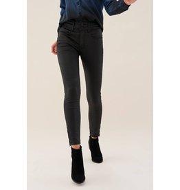 Salsa Jeans Salsa Jeans - Secret Capri Jeans with Coating Effect