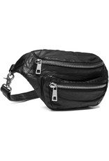 Depeche Black Bum Bag