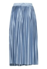 ICHI Powder Blue Pleat Skirt