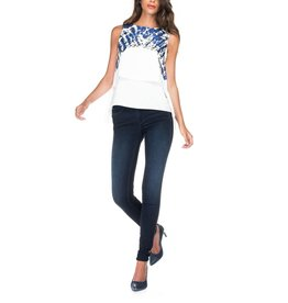 Salsa Jeans Salsa - Secret push in skinny jeans in dark denim