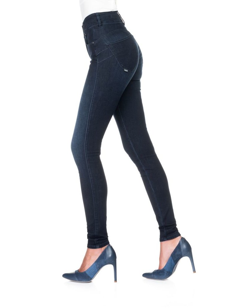 Salsa Jeans Secret Skinny Push In Effect Dark Denim Jeans