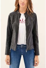 Salsa Jeans Basic Leather Jacket