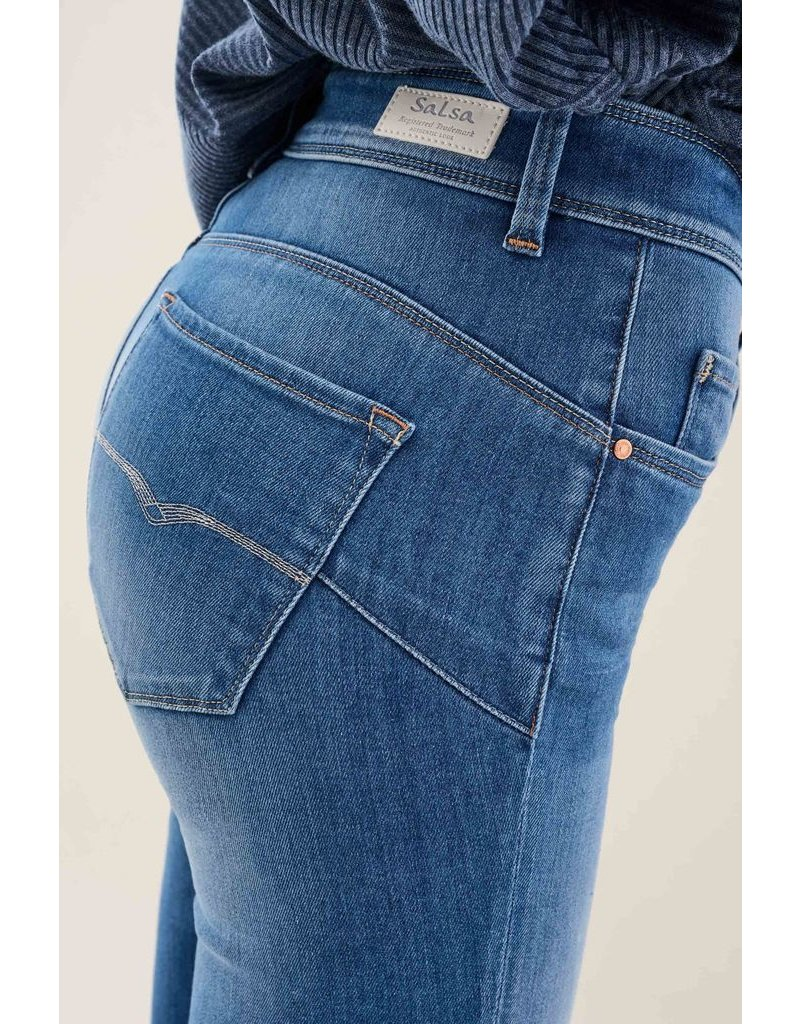 Salsa Jeans  Secret Glamour Capri Jeans with Zip
