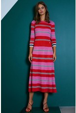 10 Feet Lurex Stripe Midi length Dress