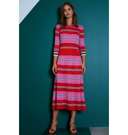 10 Feet Lurex Stripe Midi length Dress
