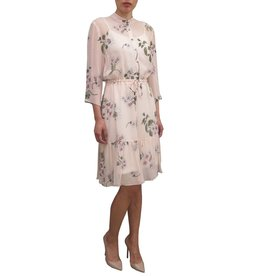 Fee G Chiffon Long Sleeve Dress.
