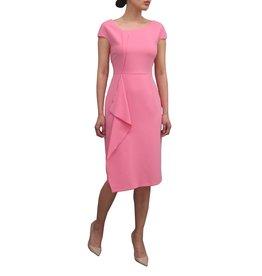 b9413a9b6 Fee G Drape Front Pink Dress