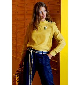 10 Feet Boxy Short Sleeve blouse
