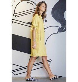 10 Feet Dress with Small Collar Half Placket
