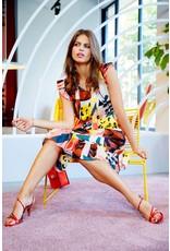 10 Feet Luxurious Silk Dress with Ruffle Details