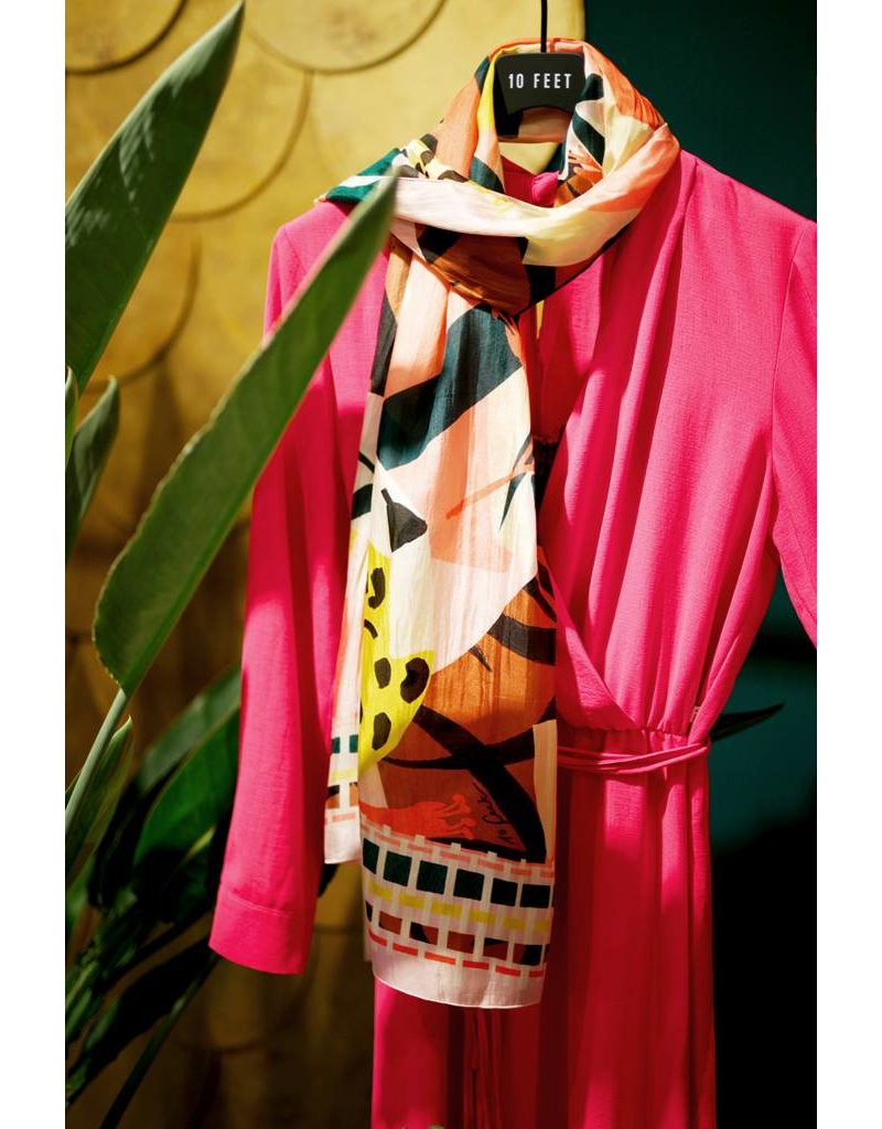 10 Feet  Luxurious Silk Scarf