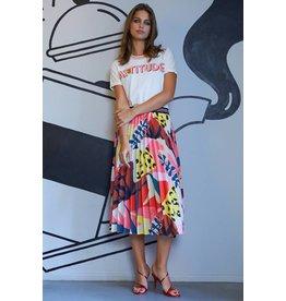 10 Feet Silky Satin Plisse Skirt