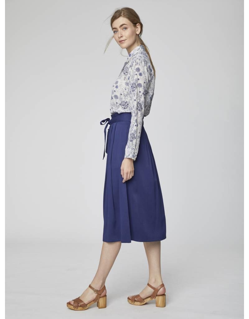 430d1c4773a303 Thought - Sandreen Paperbag Waist Midi Skirt - WSB4074 - Escape Boutique