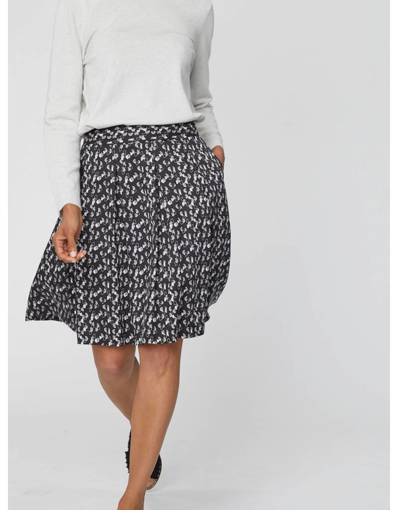 Thought Clothing Renee Tencel Pleated Skirt With Pockets