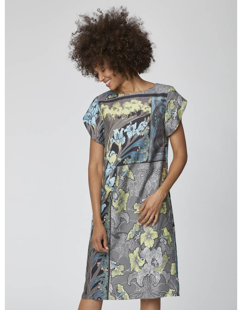 Thought Clothing Lily Nouveau Floral Shift Dress