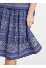 Thought Clothing Jacqualine Embroidered  Cotton Skirt