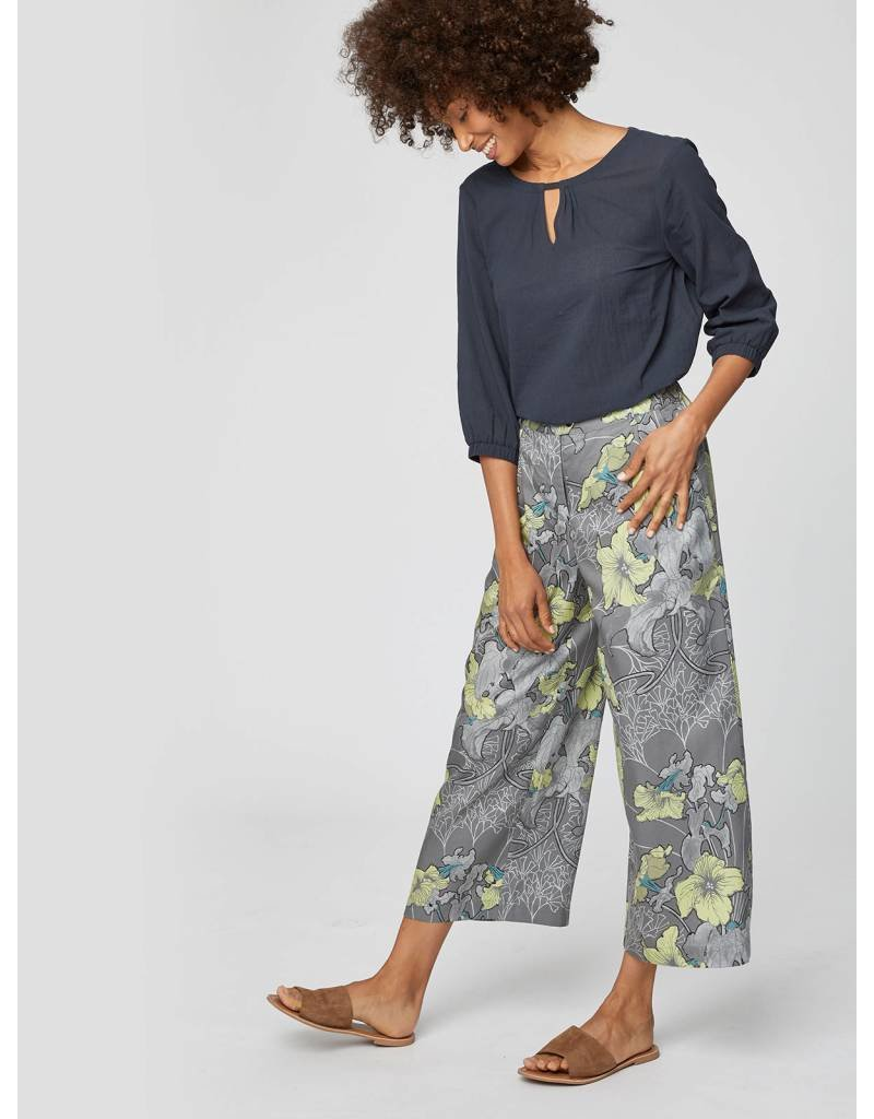 Thought Clothing Thought - LiLy Nouveau Floral Print Culottes
