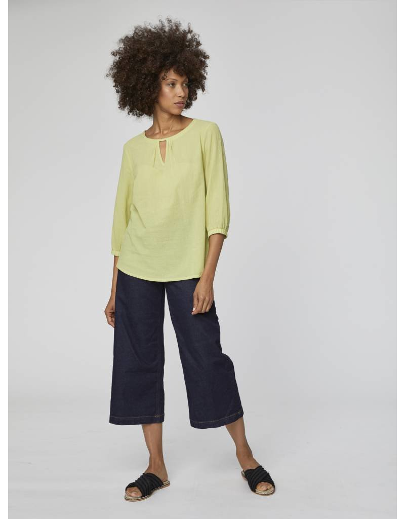 Thought Clothing Eileen Blouse Organic Cotton Top