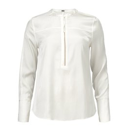 Gustav Denmark Satin Shirt with Zip