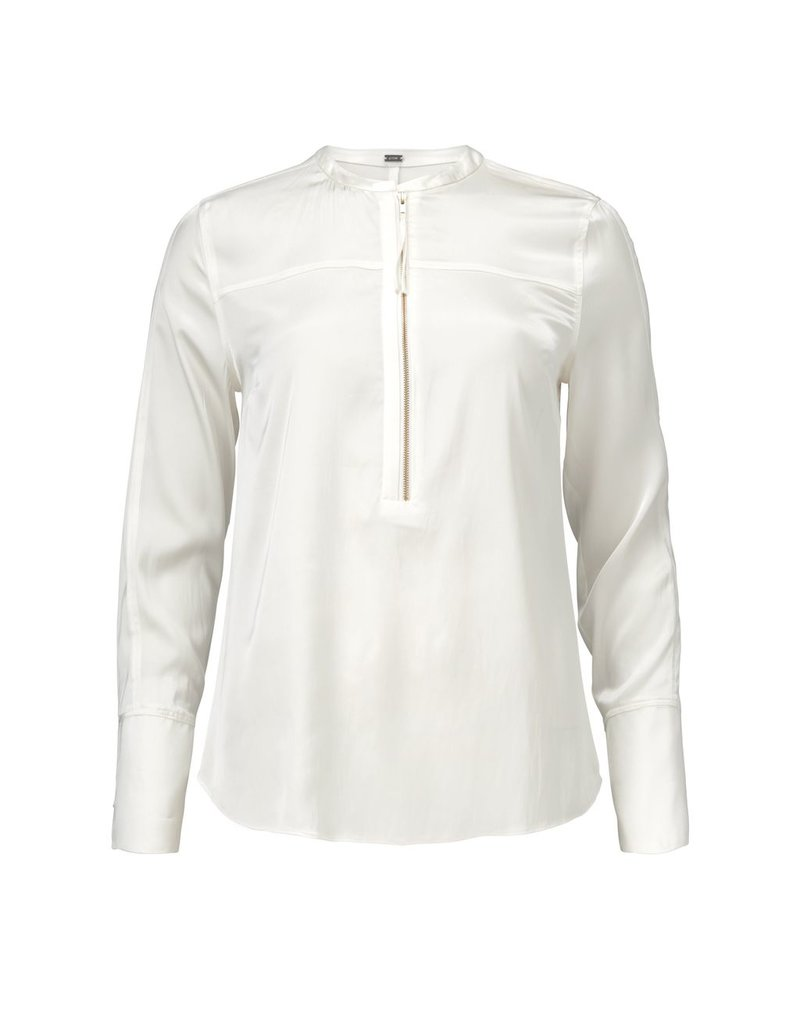Gustav Denmark Satin Shirt with Zip