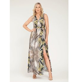 Peruzzi Long Print Dress