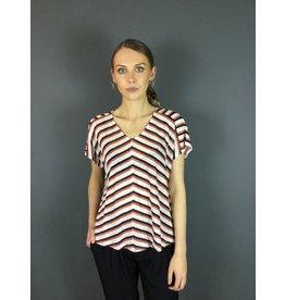 La Fee Maraboutee Stripe Linen T-Shirt
