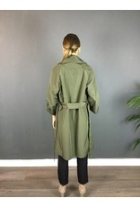 La Fee Maraboutee Belted Trench Coat