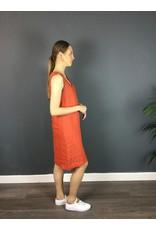 La Fee Maraboutee Sleeveless Sportluxe Bias Cut Linen Dress