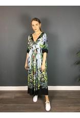 La Fee Maraboutee Romatic Empire Line Maxi Print Dress