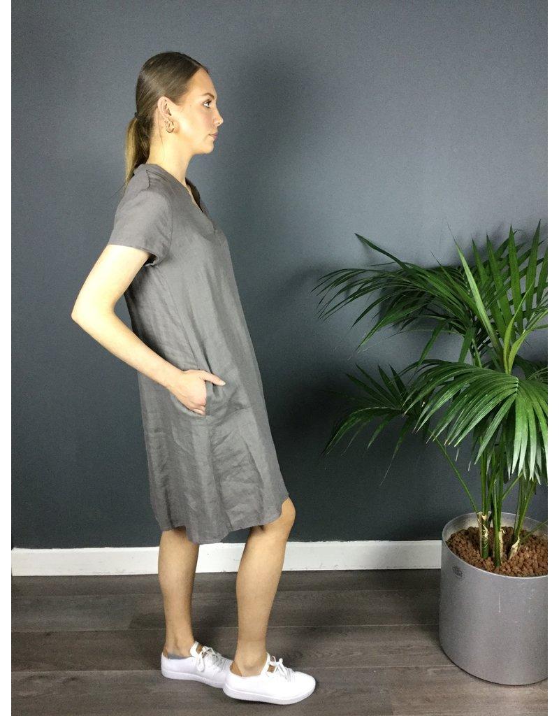 Humility Short SLeeve Linen Dress