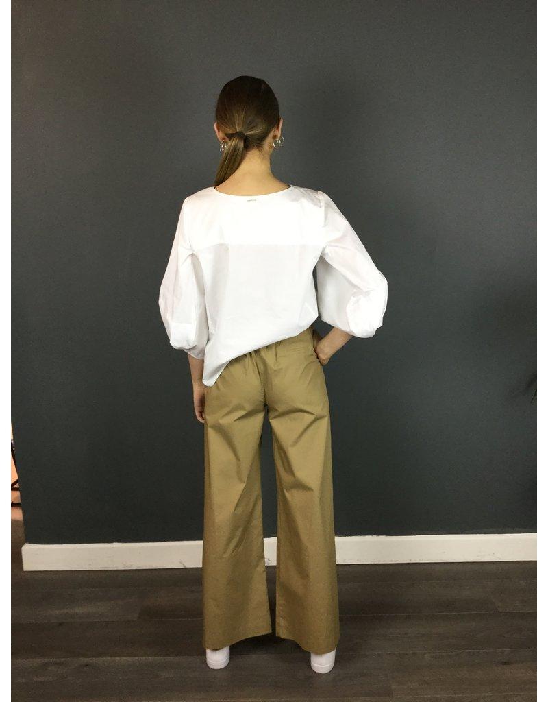 Humility Crisp White Cotton Shirt