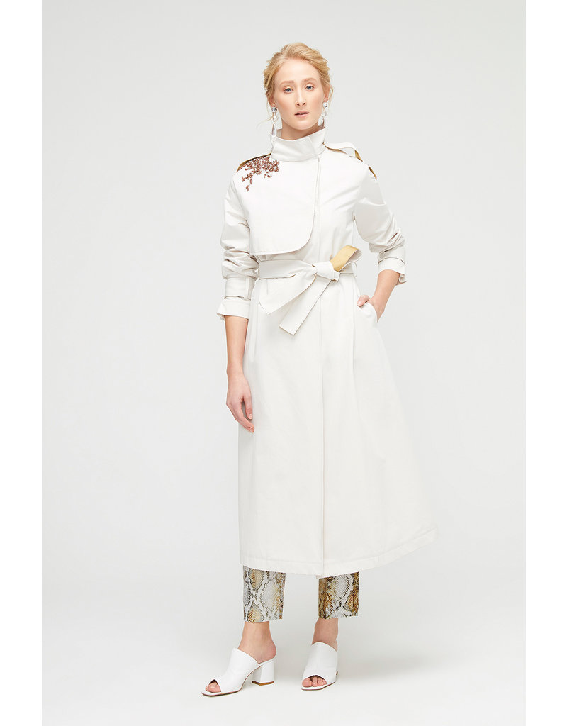 Exquise  Glam Trench Coat